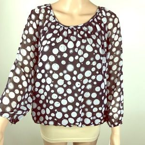 ⭐️ Cathy Daniels party top ⭐️